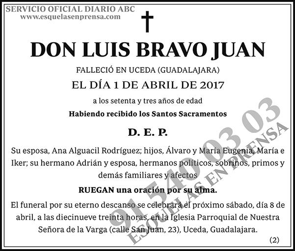 Luis Bravo Juan